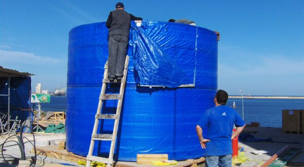 Cylinder Aquarium Tank Supply
